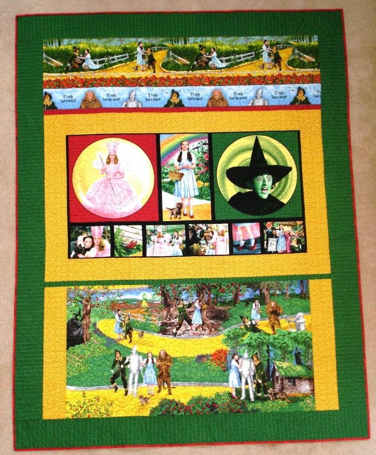 Wizard of Oz Quilts We\'ve Made